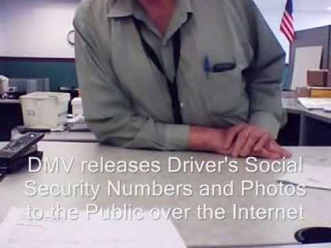 NJ MVC / DMV Release Driver's License Photos and 'Social Security Numbers' To The Public