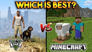 GTA 5 VS MINECRAFT : WHICH IS BEST?