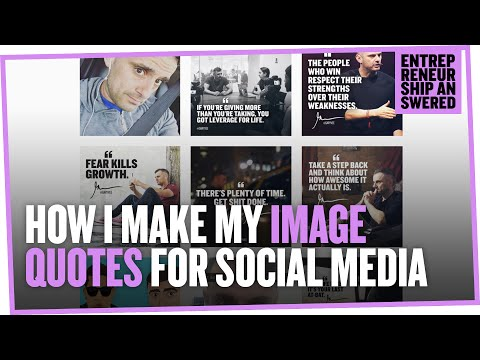 How I Make My Image Quotes for Social Media