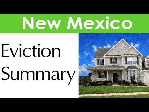 New Mexico Eviction Laws for Landlords and Tenants