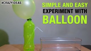 Download Simple and Easy Science Experiment With Balloon   DIY   Science Projects   Crazy Ideas Video