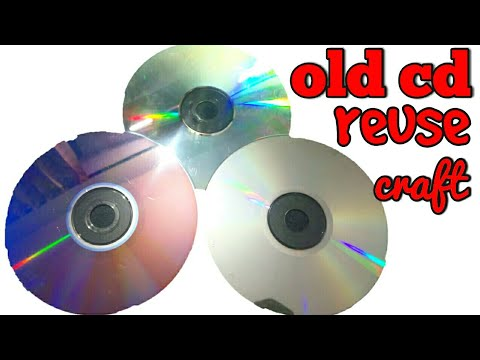 diy - old CD - reuse craft | BEST OUT OF WASTE | old cd craft ideas | be crafty