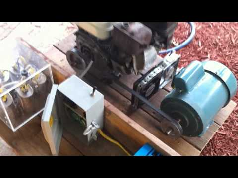 Homemade induction generator