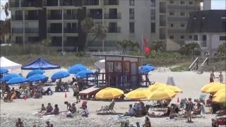 Beach Closed Again On Cocoa Beach Due To Sharks