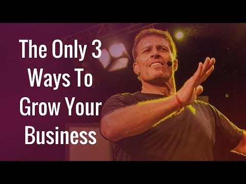 [FULL]Tony Robbins Business Mastery - The Only 3 Ways To Grow Your Business | Tony Robbins Seminar