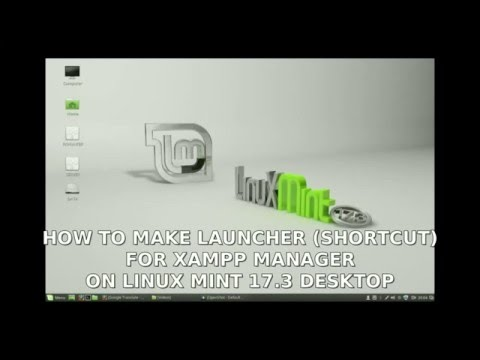 How to create XAMPP launcher (desktop shorcut) on Linux Mint 17.3