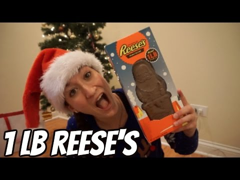 1lb Reese's Peanut Butter Cup Santa Challenge
