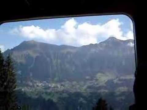 Interlaken to Murren, Switzerland