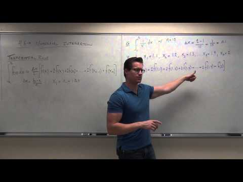 Numerical Integration With Trapezoidal and Simpson's Rule