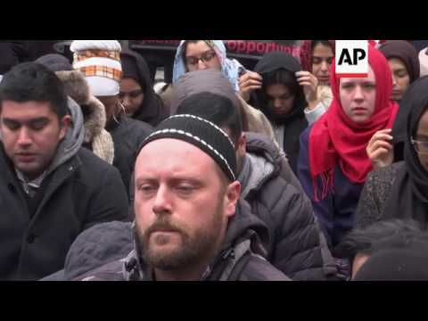 New York protests against immigrant vetting