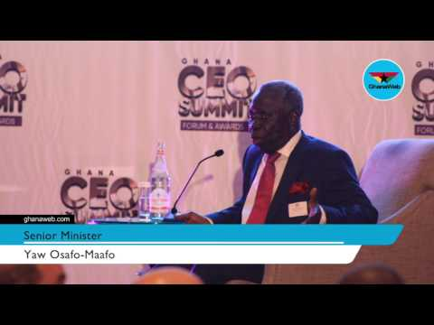 Corruption to be curbed using electronic systems - Osafo-Maafo