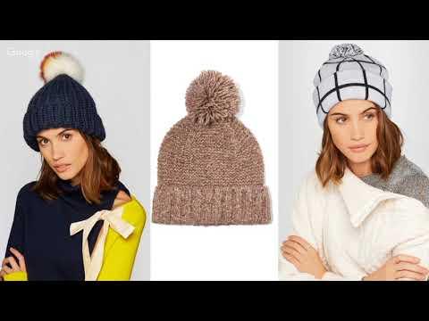 Как выбрать шапку и шарф женщине на зиму
