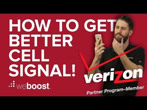 How to Improve & Boost Cell Phone Signal for Verizon | weBoost
