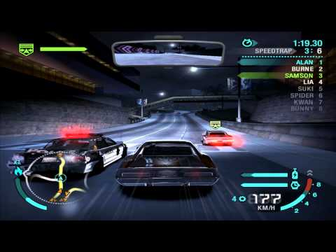 Need For Speed: Carbon - Race #44 - Million Dollar Drive (Speedtrap)