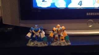 Transformers Rescue Bots Beam Box Bumblebee figure to Chase figure mod