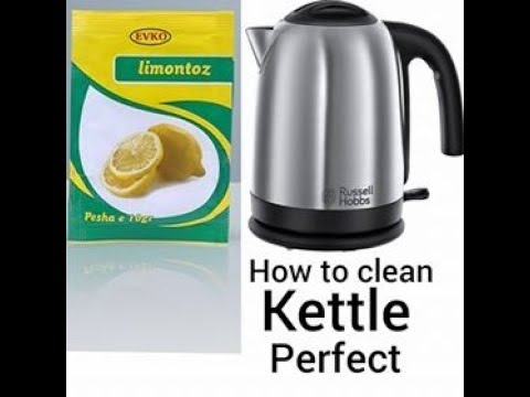 How to clean kettle inside