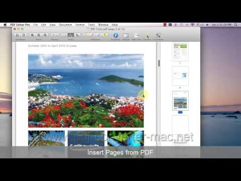 [PDF Editor Mac] How to Delete/Extract/Insert/Crop/Rotate Pages in PDF document?