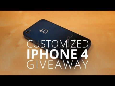Custom iPhone Giveaway! (International)