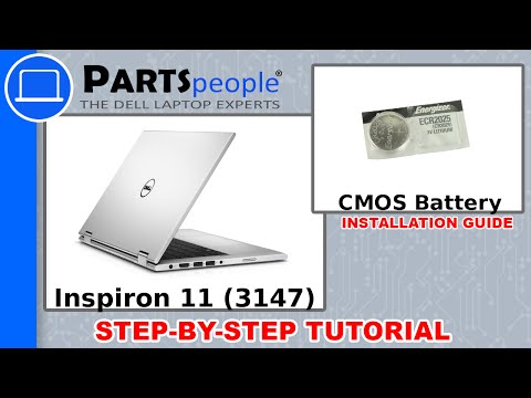 Dell Inspiron 11 (3147) CMOS Battery How-To Video Tutorial