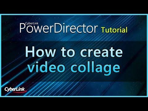 PowerDirector - Video Collage Designer