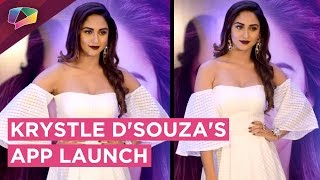 Krystle D'souza REVEALS all about her NEW APP | Exclusive Interview