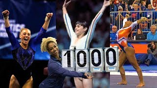 Four Perfect 10s In Gymnastics