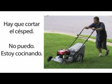 Learn Spanish 1.13 - Chores and Basic Commands (part 1)