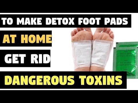 How To Make Detox Foot Pads at Home and Get Rid Of The Dangerous Toxins from Your Body Overnight