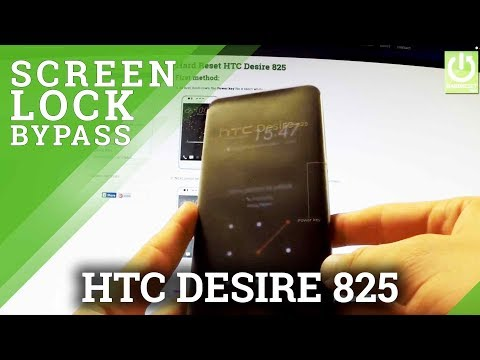 Hard Reset HTC Desire 825 - REMOVE PATTERN and PASSWORD