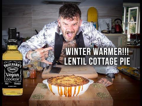 Pritchard's Vegan Winter Warmer Lentil Cottage Pie