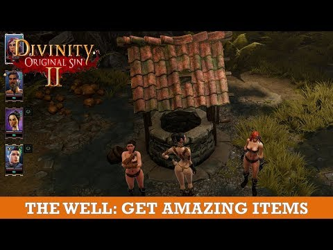 The well in Braccus tower: Get amazing items (Divinity Original Sin 2)