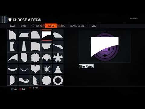 How To Make a Rinne Sharingan Emblem In Bo3