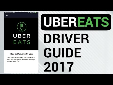 UberEATS Driver Guide - 2017 (Complete Walk-through)