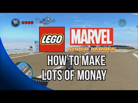 How to Make lots of Money (Easy Billionaire Philanthropist) - LEGO Marvel Super Heroes