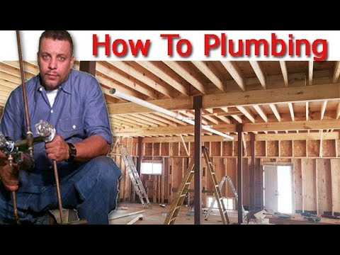 Plumbing Soon To A Home Some Were