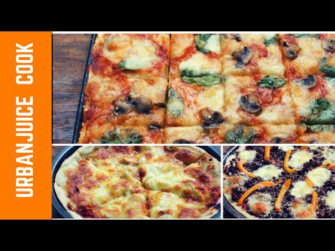 3 Pizzas From Scratch