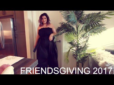 Friendsgiving 2017 | Sometimes Glam