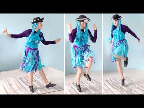 Descendants TAP DANCE ROUTINE 🧜♀️ UMA'S SONG Choreography