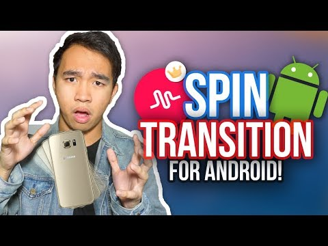 MUSICAL.LY SPIN TRANSITION FOR ANDROID TUTORIAL! #SpinTransition *NEW*