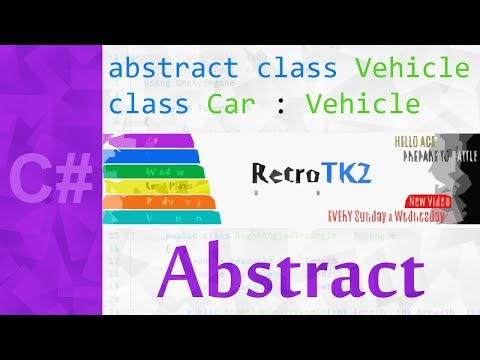 Abstract Class in C# 💻 An Abstract Keyword Tutorial with Virtual Methods & Override