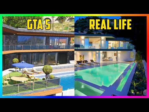 Finding Michael's Mansion, Franklin's Hillside House & Trevor's Trailer IN REAL LIFE! (GTA 5)