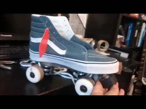 How to make Vans Roller Skates