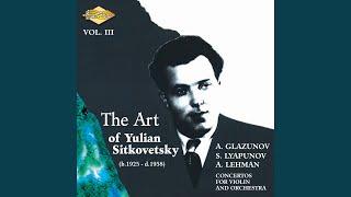 Violin Concerto In D Minor Op 61 Ii Adagio