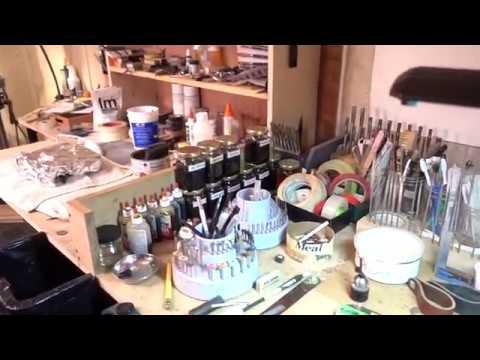 Replacing a High Grade Pipe Stem PART 2 -- Shop tour