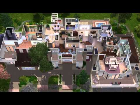 The sims 3 - house building - Premactra 22