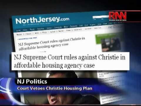 NJ Politics: Court Vetoes Christie Housing Plan and Same-Sex Marriage