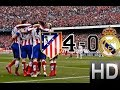 Atletico Madrid Vs Real Madrid 4 0 All Goals And Highlights 07 02 2015 HD