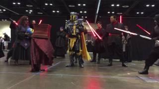 Saber Guild  Jakku Temple At Star Wars Celebration Orlando 2017