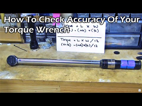 How to Check Calibration Accuracy of Torque Wrench (Video 2)