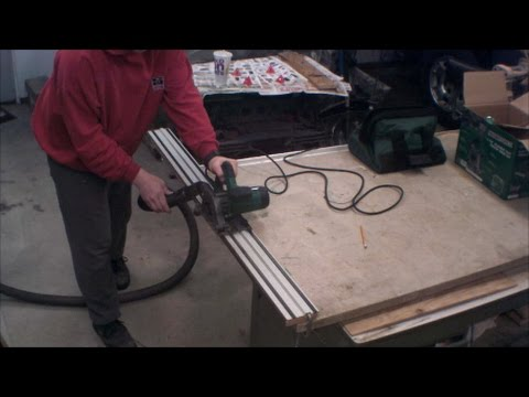 Masterforce Track Saw Unboxing and Review